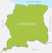 Where is suriname?