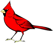 Redford the Red Bird Recipient - Heather Hendershot