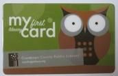 Cuyahoga County Library Card