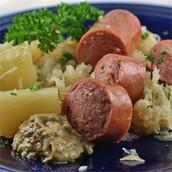 Porc et Choucroute alsacienne