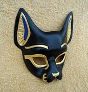 Egyptian Cat mask.