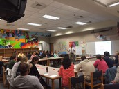 Many Parents Came To Hear About Math In Focus