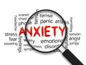 What is a saying or slogan for anxiety?