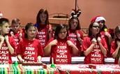 Bell Choir at Intermediate Holiday Concert
