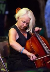 Julie Carter, cello, songwriting