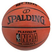 NBA Spalding platinum ball