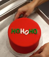 Ho Ho Holiday Cake!