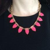 Pink Eye Candy Necklace $27 (reg. $54)