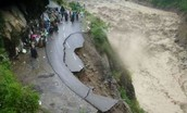 Destruction of roads
