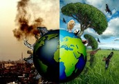 how are earth is now  and before