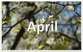 Mark Your Calendar - APRIL
