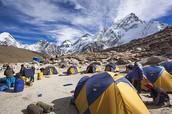 Base Camp at Mount Everest