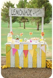 Our stand sells the best lemonade in town