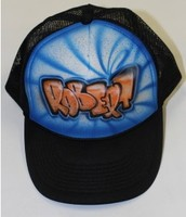 Airbrush hats & backpacks