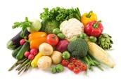 Benifits de santé de légumes!