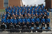 Marching Band's first Competition