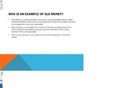 """""""Old Money"""""""