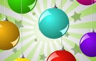 Adornos y borlas de navidad