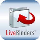 Livebinder sessions  for your electronic Invest binder.