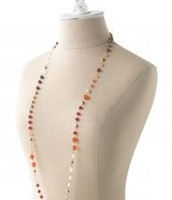 Aileen Necklace-Coral