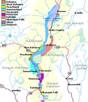 Map of Original area (1850's)