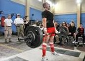 This is a powerlifting meet