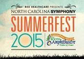 North Carolina Symphony Summerfest 2015