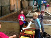 Experimenting with friction and gravity.