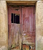 Owner of door not happy.