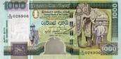 1000 Sri Lankan Rupee