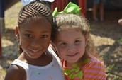 Haylie and her Friend from another Class