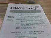 PSAT/NMQST Test at PHS 10/15/14