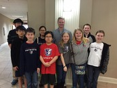 Math Club Competes in Math Counts Contest