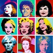 Andy Warhol art.