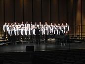 SVMS Varsity Men's Choir wins Sweepstakes