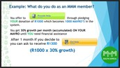 What Do You Do As A MMM Member?