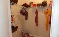 Spacious Walk In Closets