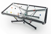 G-1 Glass Top Pool Table