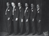 Louis Armstrong and his band