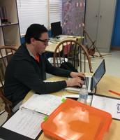 Ryan preparing for Math