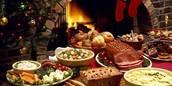 Huge Christmas dinner