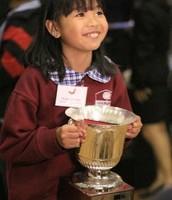 Winner of  state spelling bee