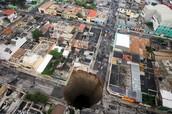 Guatemala sinkholes