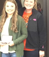 Haley Ford- February Student of the Month