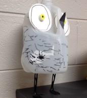 Adult snowy owl