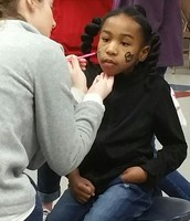 Valentine's Parties always require Face Painting!