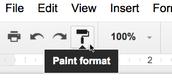 Paint Format Button