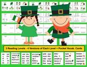 St. Patrick's Day Readers K/1