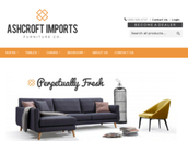 ASHCROFT IMPORTS'  A dropshipping shop for furniture in U.S.