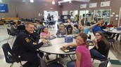 Our Local Police Officers visited this Spring for Lunch